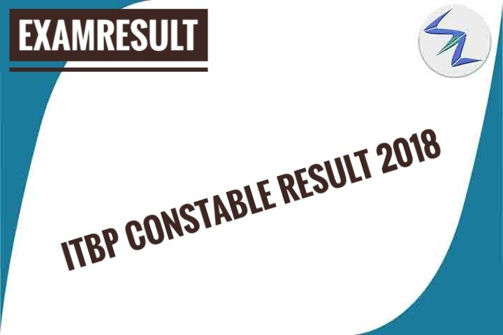 ITBP Constable Result 2018 Declared | Check Details Inside