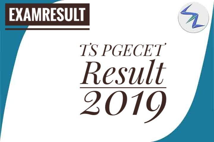 TS PGECET Result 2019 Declared | Details Inside