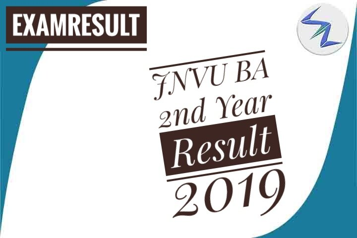 JNVU BA 2nd Year Result 2019 Declared | Details Inside