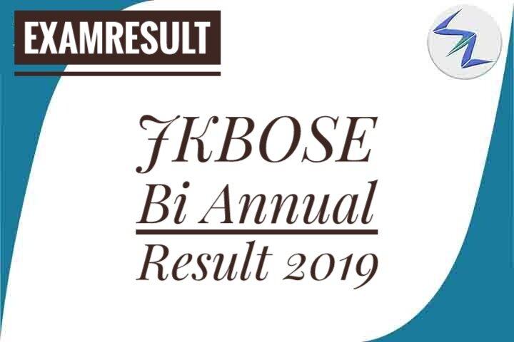 JKBOSE Bi Annual Result 2019 Declared   Details Inside