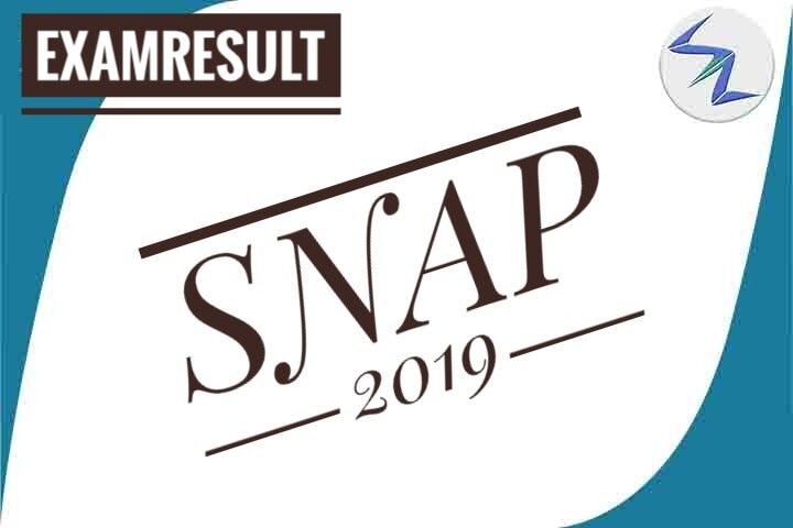 SNAP 2019 | Result Declared | Details Inside