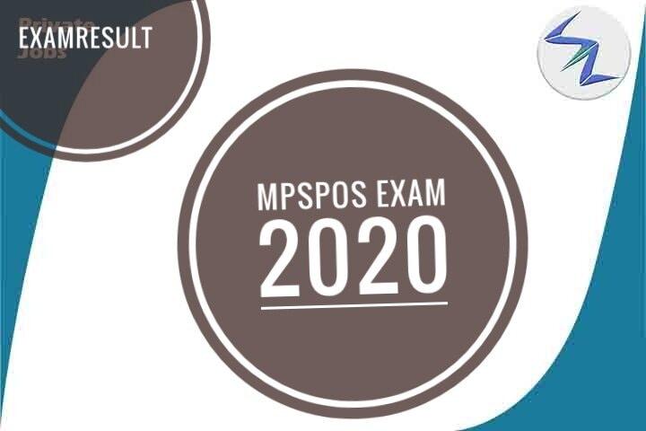 MPSPOS Entrance Exam 2020 | Result Declared | Details Inside