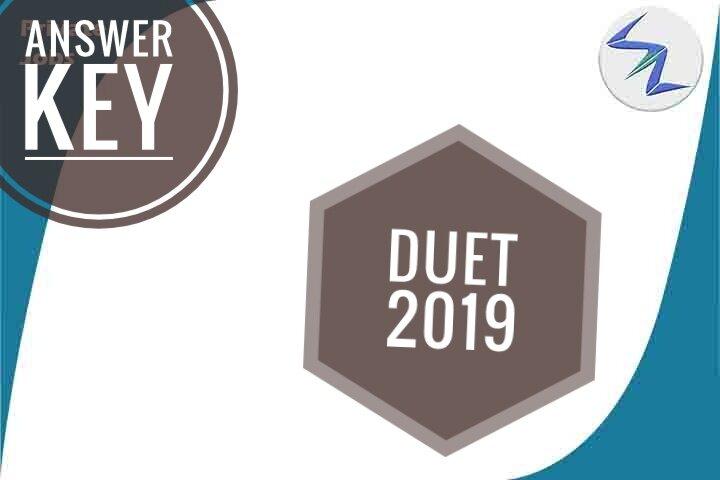 DUET 2019 Answer Key Released | Details Inside