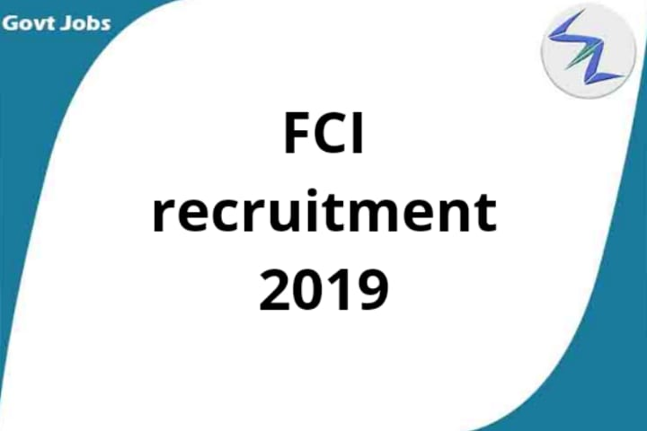 Food Corporation of India (FCI) Recruitment 2019 | 4,103 posts | See Details