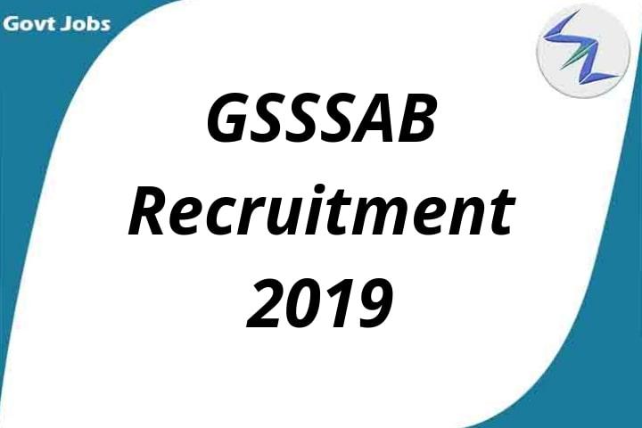 Gujarat Subordinate Service Selection Board Recruitment 2019 | 2367 Supervisor Instructor Posts| Full Details Inside