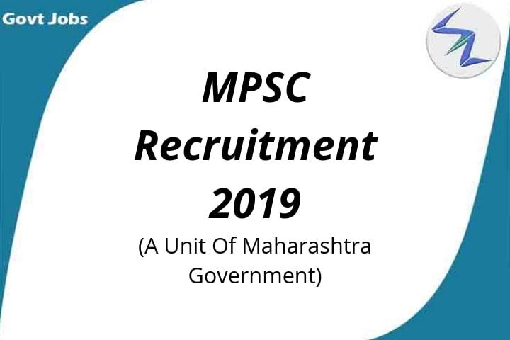 Maharashtra Public Service Commission Recruitment 2019   234...