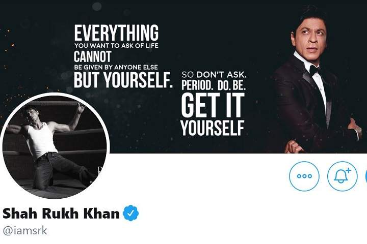 A Fan Askes Shah Rukh Khan To Announce His Next Movie On Twitter