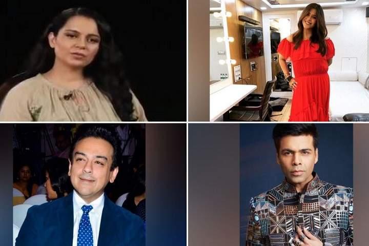 Kangana Ranaut, Ekta Kapoor, Adnan Sami and Karan Jahor Have Been Honoured with Padma Shri Award