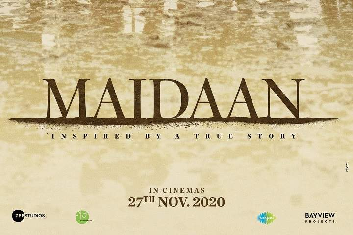Here Is The Teaser Poster of Maidaan Without Ajay Devgn