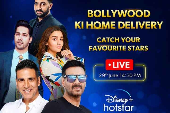 Akshay Kumar, Ajay Devgn, and others will be live on Disney+Hotstar on June 29 to make some announcement