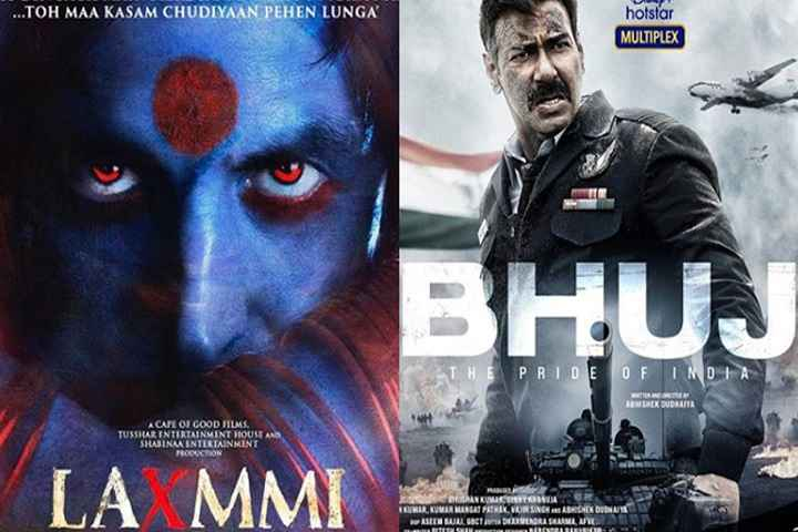 Laxmmi Bomb and Bhuj: The Pride Of India sold for a whopping price to Disney+Hotstar
