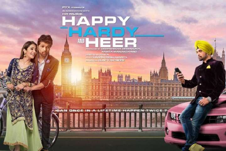 Happy Hardy and Heer Box Office Collection   Day Wise   Worldwide