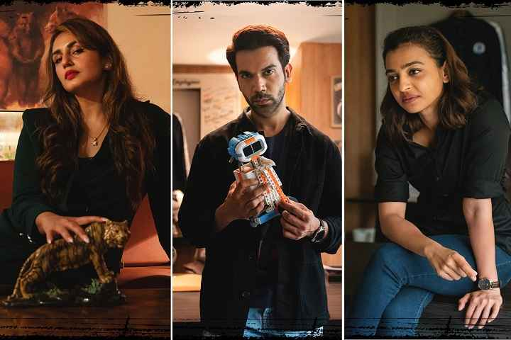 Rajkummar Rao, Huma Qureshi, and Radhika Apte To Star In A NETFLIX Original Film - Monica, O My Darling; First Looks Revealed