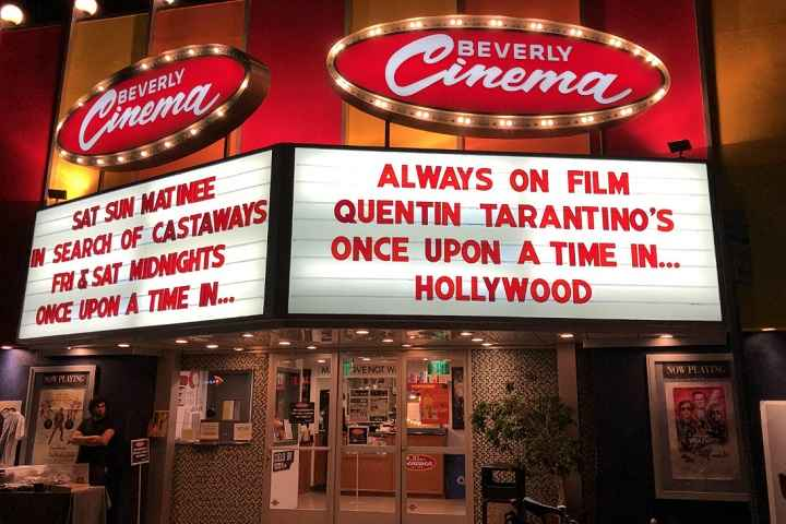 Quentin Tarantino's 'New Beverly Cinema' In Los Angeles Set To Reopen In June