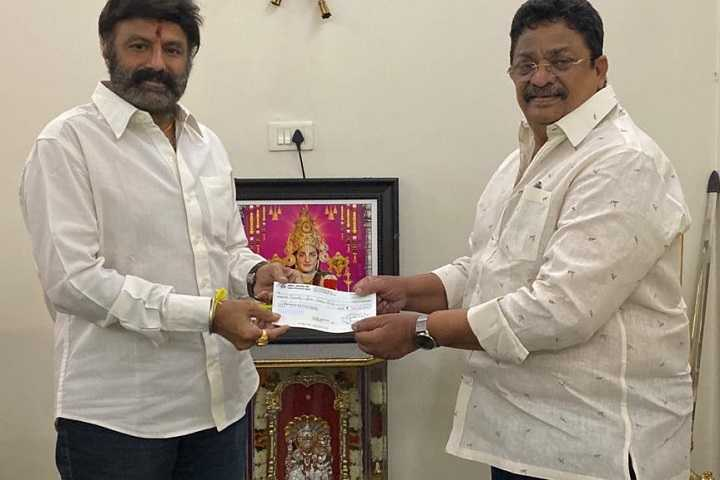 Telugu actor-politician Balakrishna gives Rs 1cr in aid of COVID-19 fight