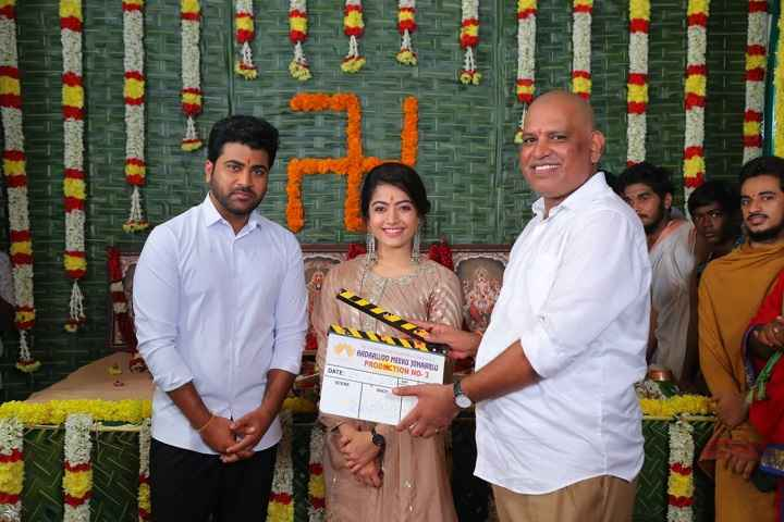 Sharwanand And Rashmika Mandanna To Star In Director Kishore Tirumalas Aadaalloo...