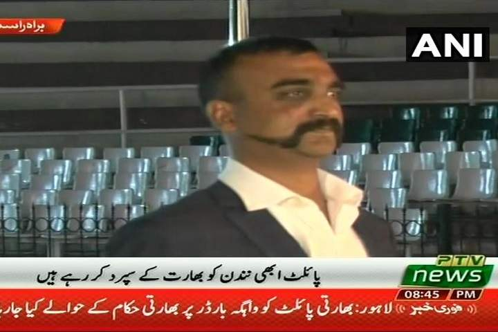 IAF Wing Commander Abhinandan Varthaman returns to India