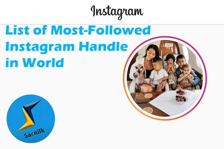 List of Most-Followed Instagram Handle in World