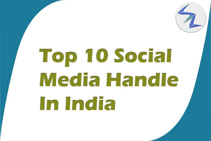 Top 10 Most-Followed Social Media Handle in India