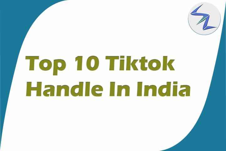 Top 10 Most Followed Tiktok Handle in India