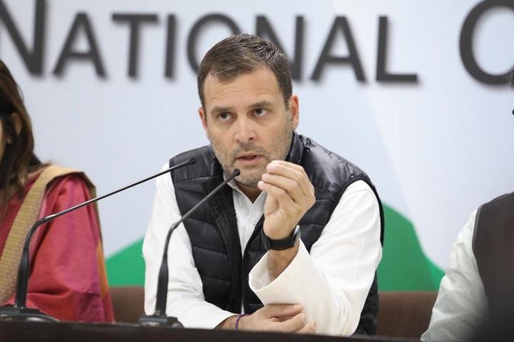 Congress President Rahul Gandhi Addresses Media on Rafale Scam