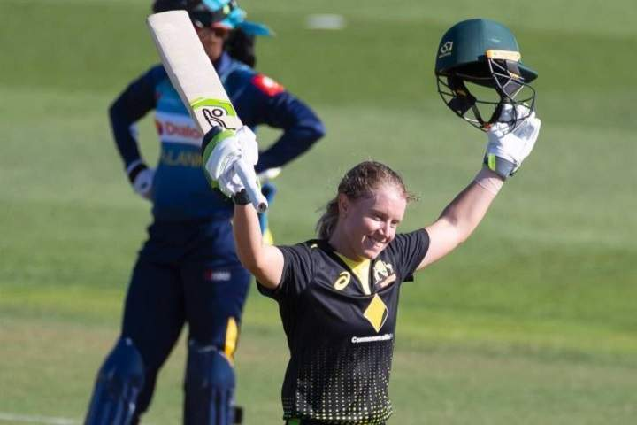 Top 5 Fastest Centuries In Women T20Is