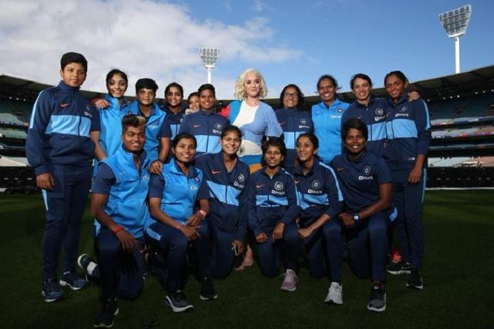 Women's T20 WC: Ahead of final, Katy Perry meets Harmanpreet & Co.