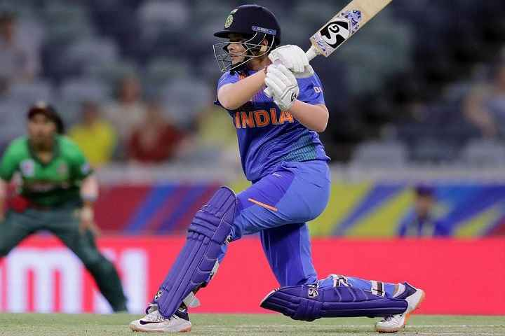 The Newly Test Inductee Shafali Verma Earns Promotion In India's 2020-21 Women Central Contract List; Veda Krishnamurthy Left Out