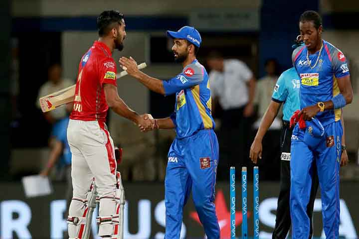 Rajasthan Royals survive KL Rahul special