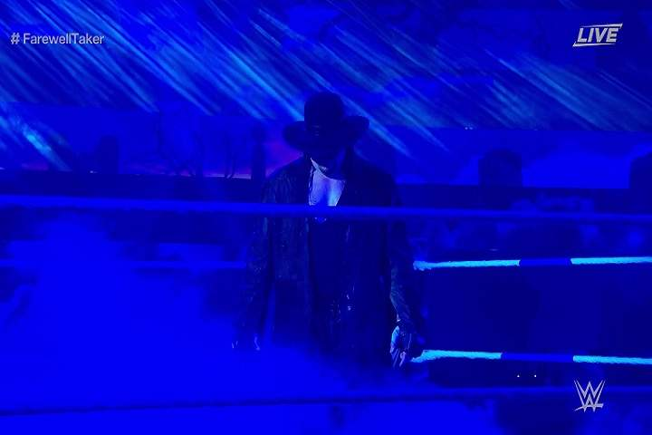 The Undertaker Bids The Final Farewell To His Legendary 30-Year WWE Career