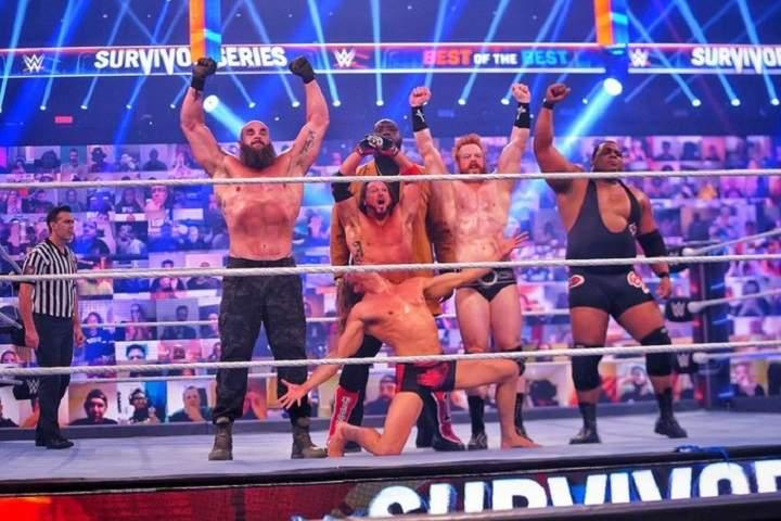 Team RAW Defeats Team SmackDown At WWE Survivor Series 2020