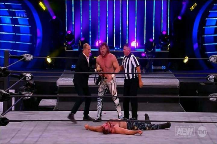 Kenny Omega Defeats Jon Moxley To Become The New AEW World Champion