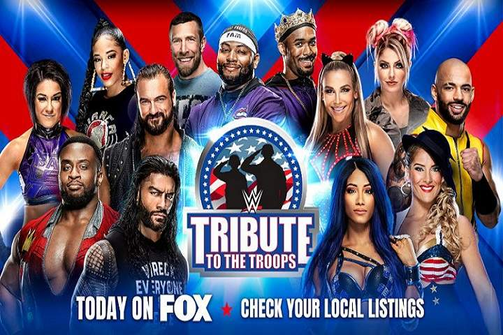 WWE Tribute To The Troops 2020 Results, Live Coverage, Winners Highlights, Commentary
