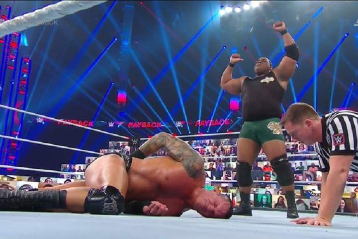 WWE Payback 2020: Keith Lee Vs. Randy Orton Match Winner