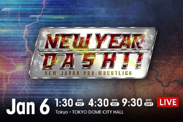 Watch NJPW New year Dash 2021 1/6/21