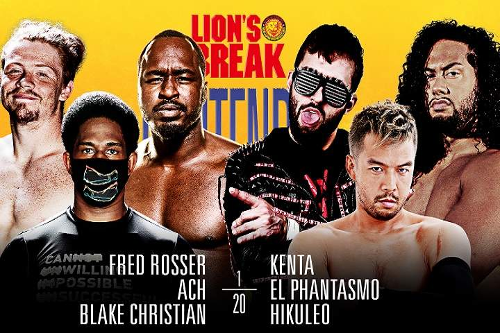 Full Card Announced For NJPW Strong: Road To Lion's Break Contender Night two