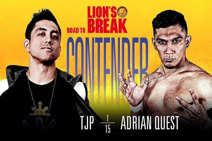 NJPW Strong: Road To Lion's Break Contender Match Card For January 15, 2021: Predictions, Preview, Start Time, Rumors