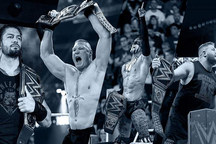 List Of The WWE Universal Champions Of The All-Time