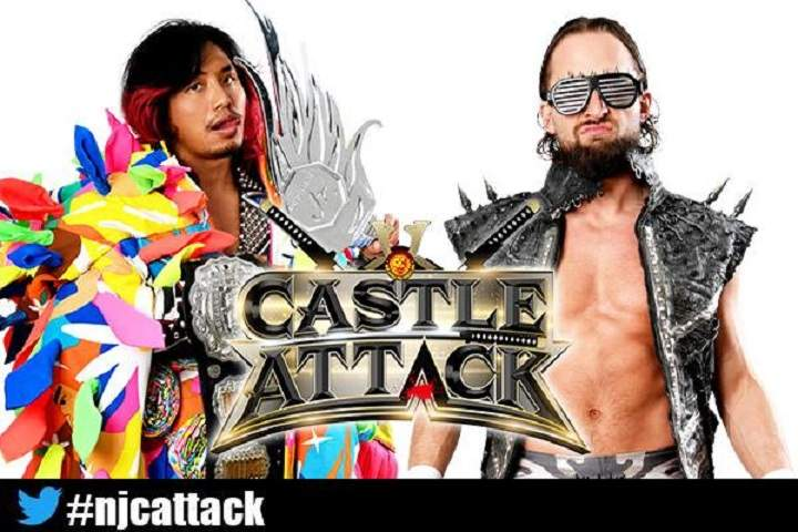 Full Lineup Announced For Both Nights Of NJPW Castle Attack