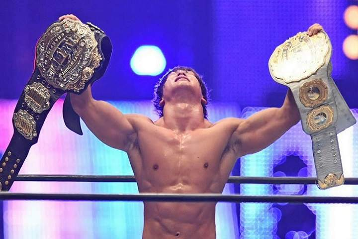 List Of Current Champions In New Japan Pro-Wrestling