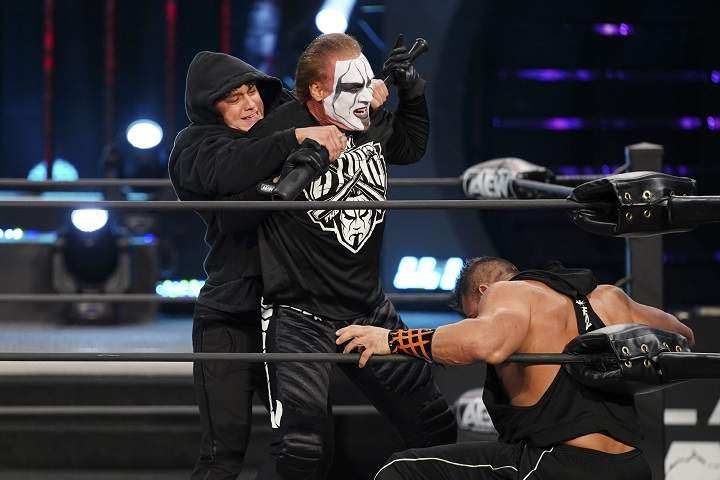 Sting Set To Appear On This Week's AEW Dynamite Following Powerbomb From Brian Cage