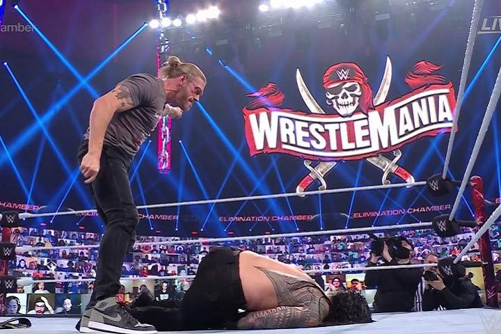 Edge Vs. Roman Reigns Announced For The WWE Universal Title At WrestleMania 37