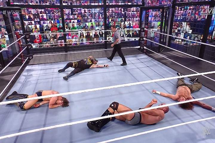 WWE Elimination Chamber: SmackDown Elimination Chamber Full Match, Winner