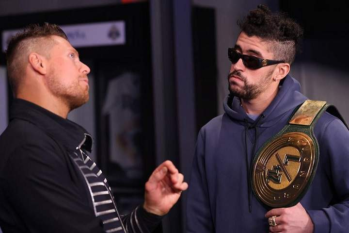 WWE Fans Wonders If Bad Bunny Vs. The Miz Will Happen For The WWE Championship At WrestleMania 37