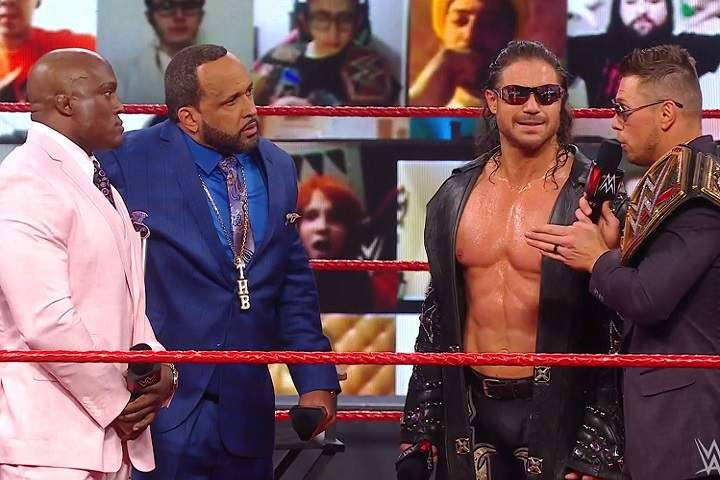 The Miz Vs. Bobby Lashley To Happen Next Monday On Raw For The WWE Championship