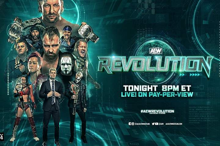 AEW Revolution 2021 Live Results, Highlights, Commentary, Live Update, Winners