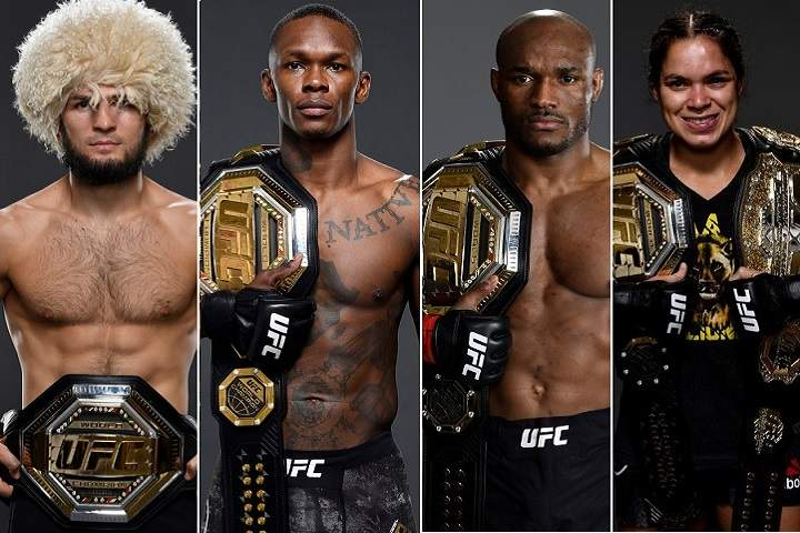 List Off All-Time UFC Champions