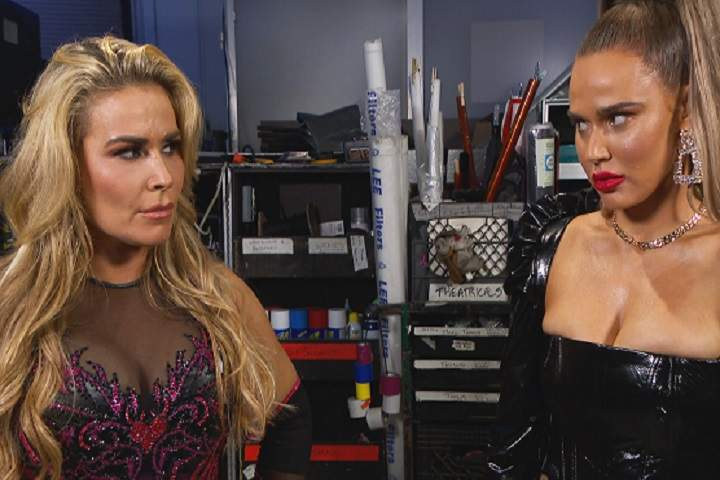 I'd Suggest Locking Them In A Sharpshooter, Natalya Suggests lana The Best Way To Handle Cyber Bullying