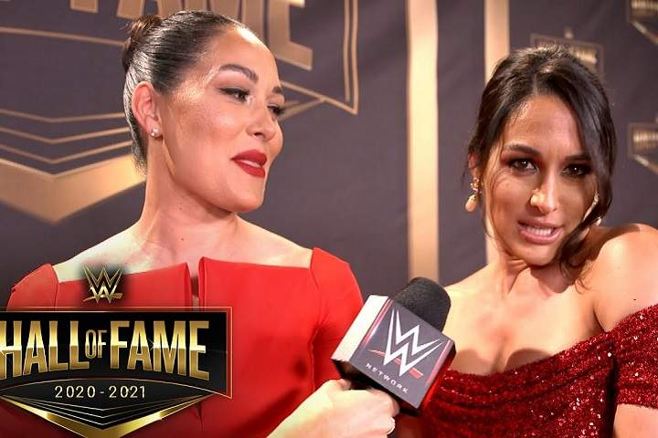 Video: The Bella Twins Share Hall Of Fame Spotlight