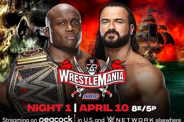 WWE WrestleMania 37 Night 1 Live Results: Highlights, Commentary, Live Update, Winners